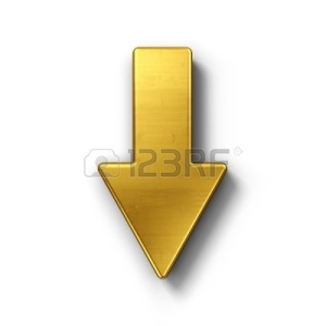 8293961-3d-rendering-of-an-arrow-symbol-in-gold-on-a-white-isolated-background
