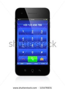 stock-photo--d-illustration-of-modern-smartphone-call-menu-design-115476931
