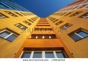 stock-photo-top-of-apartment-building-ostrava-czech-republic-130646510