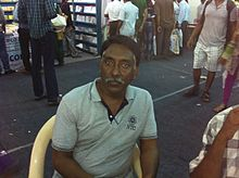 Joe_DCruz_at_Chennai_Book_fair,_2014